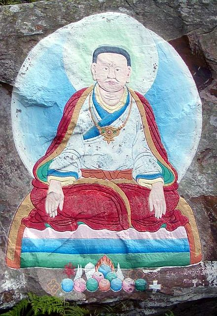 Marpa painting Holy isle
